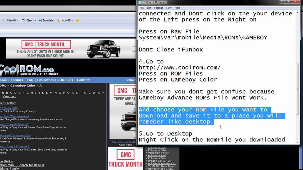 Gameboy color roms for free - How To Get Gameboy Emulator On Iphone And Itouch And How To Install Roms On Gameboy