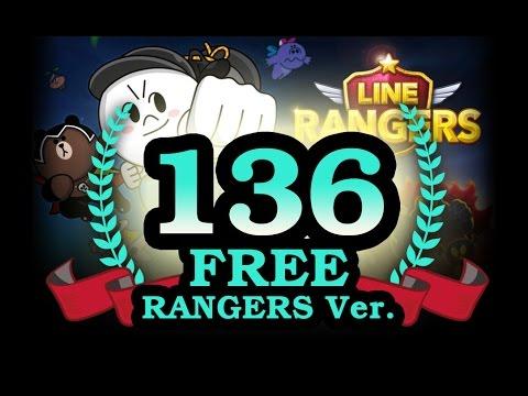 LINE Rangers : Stage 136 Free Ranger + Songster CONY (เกมไลน์ เรนเจอร์ ด่าน136 ฟรีเรนเจอร์)