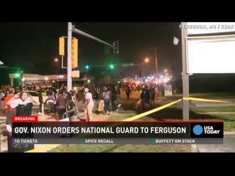 National Guard deployed to Ferguson