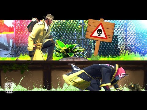 COPS & ROBBERS PRISON ESCAPE! - A Fortnite Short Film