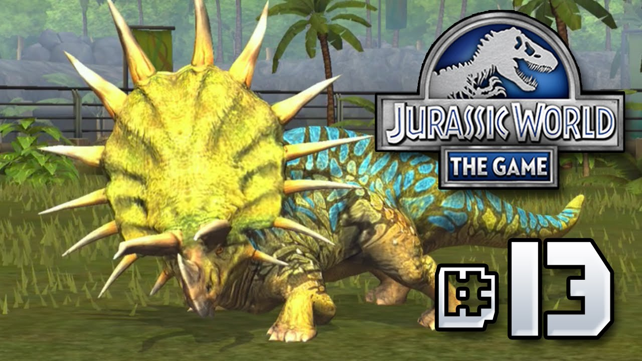 triceratops jurassic world the game ep 13 hd youtube