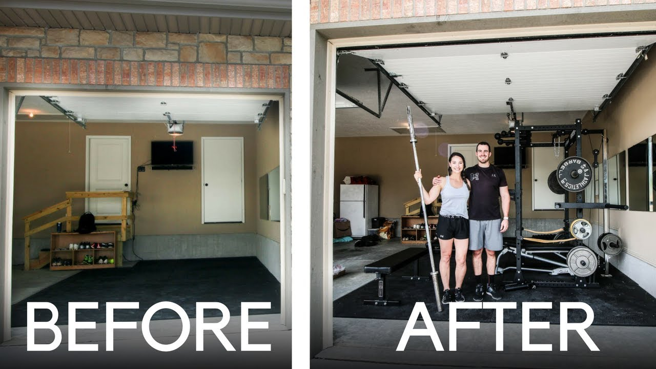 Home Gym Design: Extreme Makeover: Budget Home Gym Edition