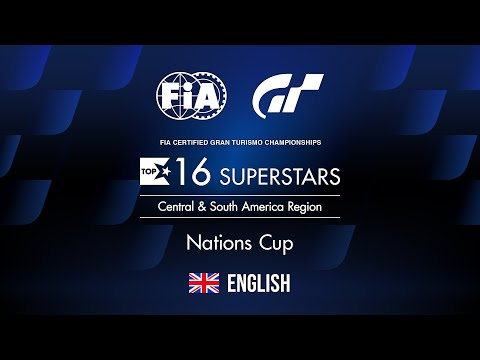 [English] FIA GTC 2019 Series | Nations Cup Top 16 Rd.40 | Central & South America