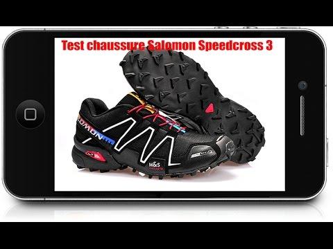 Test de la chaussure trail Salomon Speedcross 3 - YouTube 6fbcf0bd0381