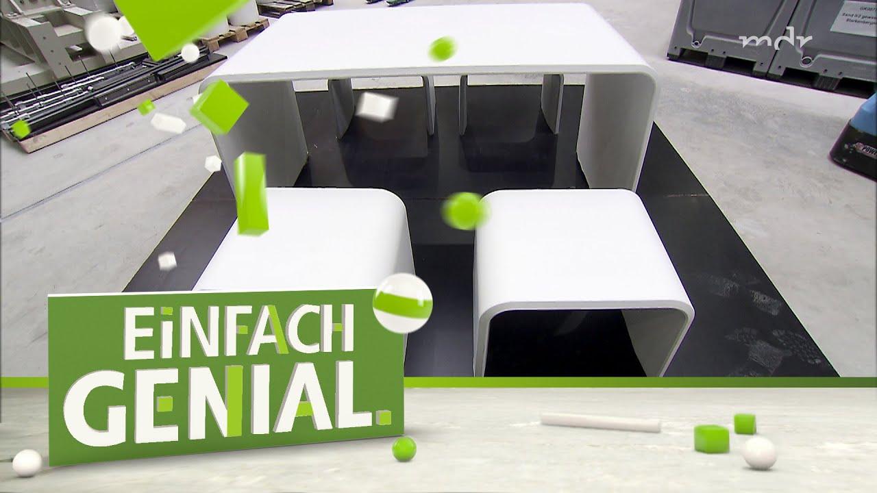 Beheizbare Gartenmöbel aus Beton | Einfach genial | MDR ...