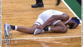 Mitchell Robinson Foot Injury - Knicks vs Bucks | March 27, 2021