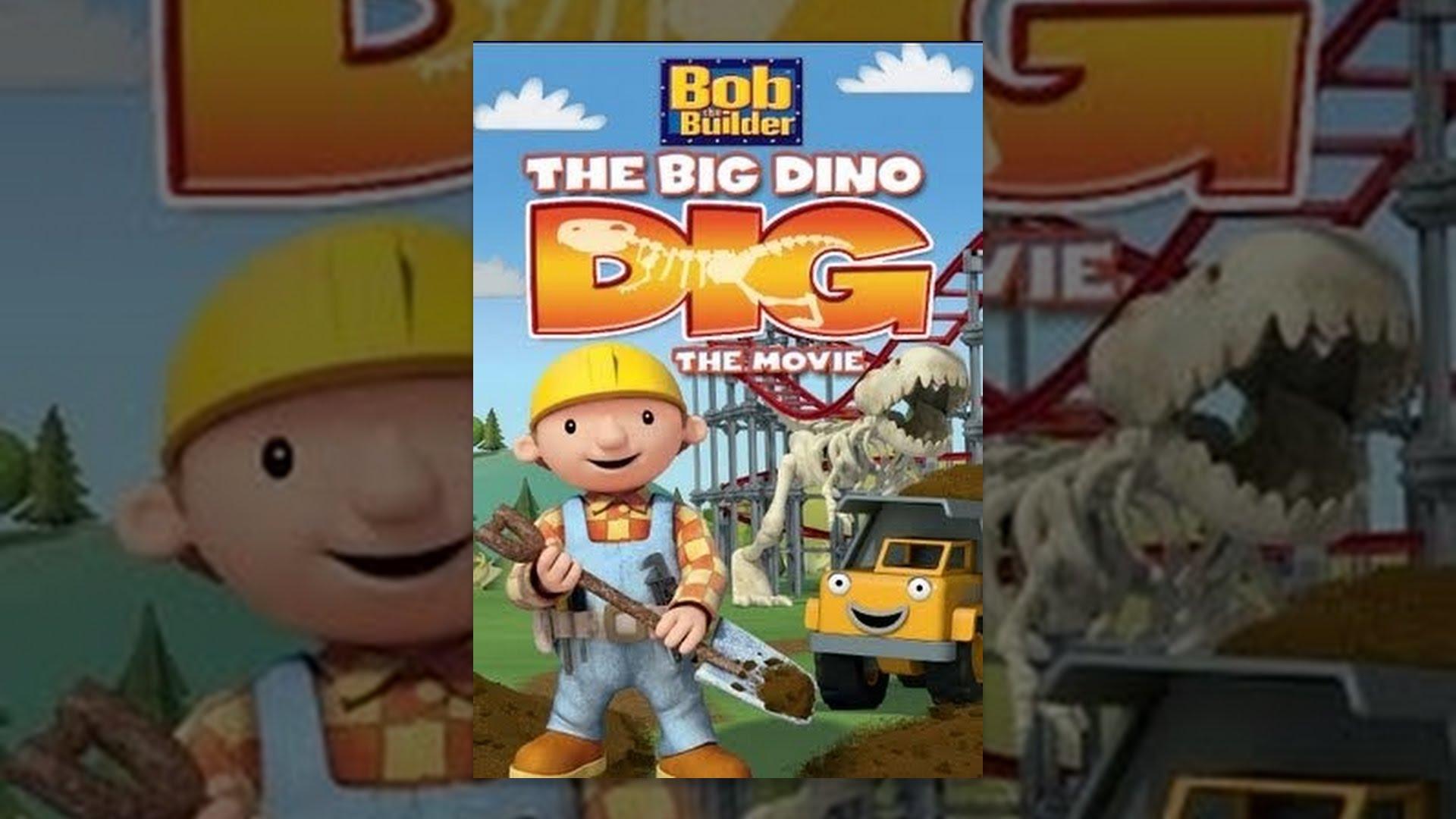 Bob the builder live online dvd rental - Bob The Builder Big Dino Dig