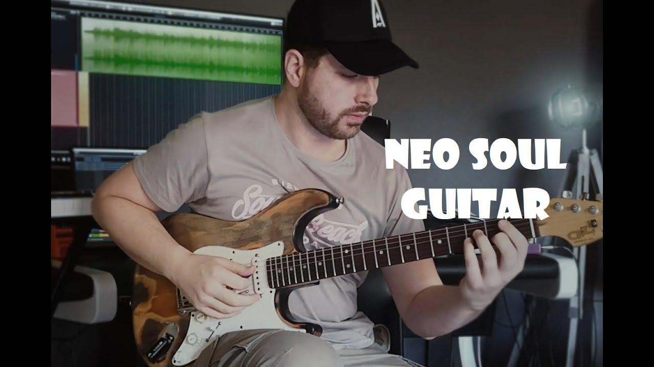 ►PJ Morton - How deep is your love ● Chris Zantioti NeoSoul Guitar Cover◄