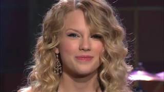 "Taylor Swift performs ""White Horse"""