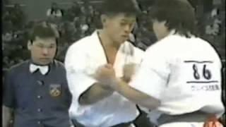 TSUYOSHI MURASE VS KUNIHIRO SUZUKI KYOKUSHIN 6TH WORLD OPEN KARATE ...