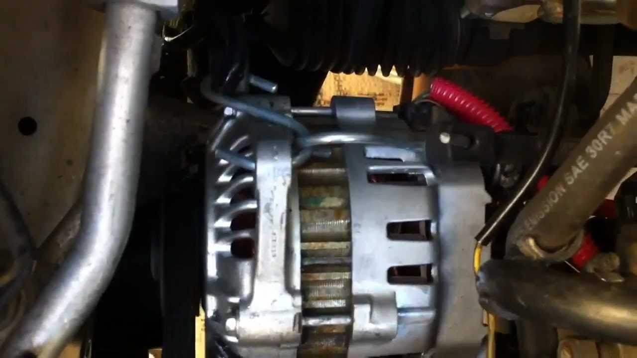 maxresdefault 009 140 amp high power alternator geo metro part 2 of 2 youtube GM Alternator Wiring Diagram at gsmx.co
