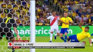 Copa América-Final: Brasil 3-1 Perú