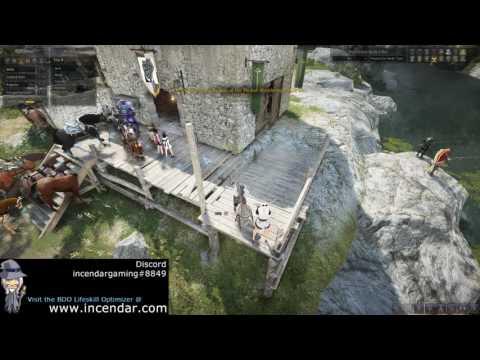Node Setup Part 3 -Timber nodes for selling,crafting,alchemy Black Desert Online BDO 1080p