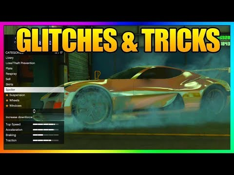 5 NEW Glitches in GTA Online! (Car Glitch,...
