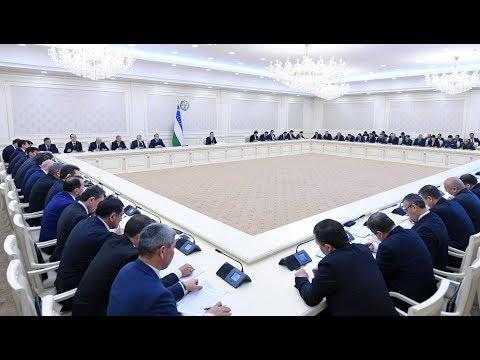 Президент Узбекистана провел совещание по вопросам совершенствования института махалли