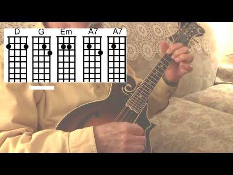 Deck the Halls - Easy Mandolin Christmas Chords