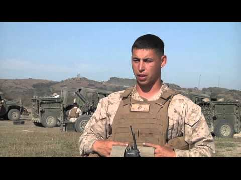 Artillery Marines Bring Expeditionary Firepower To The Fight (Brandon Salazar Interview)