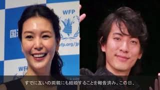 モデルで女優の知花くららさん(35)と俳優の上山竜治さん(31)が結婚...