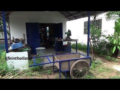 Workshop project, Repairing the old garden cart.