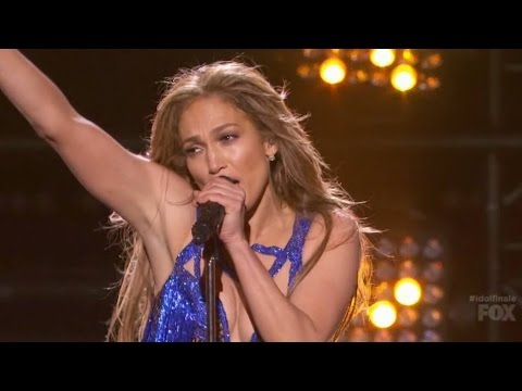 Jennifer Lopez - First Love (Live American Idol)