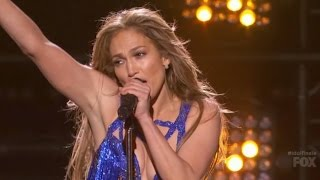 Repeat youtube video Jennifer Lopez - First Love (Live American Idol)