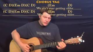 Скачать Closer The Chainsmokers Fingerstyle Guitar Cover Lesson In G With Chords Lyrics