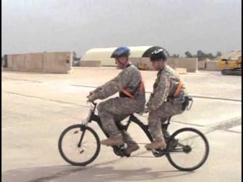 Iraq Tandembike. Music by John Swihart