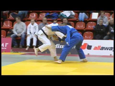 Eetu Laamanen - Juho Nurminen Alle 73 Kg:n Loppuottelussa Judon SM-kilpailussa 2013