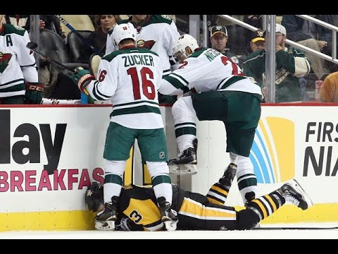 Top 5 Hardest Hits Into Benches of All Time | NHL
