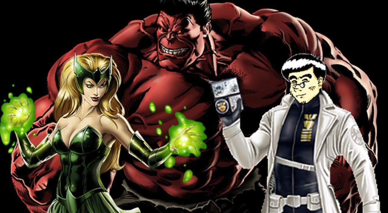 PVP 23: Enchantress & Red Hulk (Adamantium League) Marvel ...