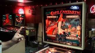 #295 Bally CAPTAIN FANTASTIC Pinball Machine with Elton John! Buy for $1500!  TNT Amusements