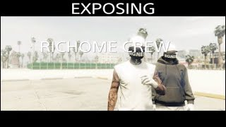 THE END OF RICHOME CREW CH34 EXPOSING