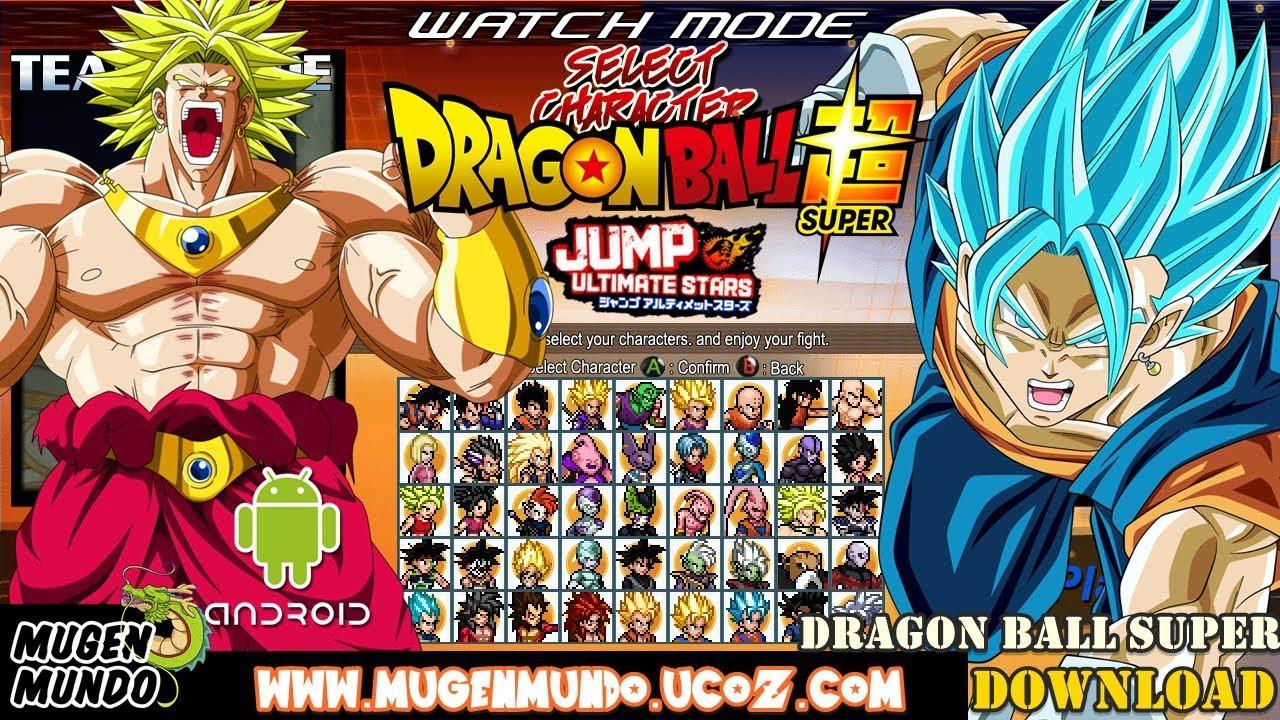 dbz mugen pc game download