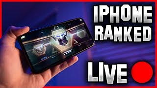 🔴Road to legendary !rank !phone (Phone ONLY Solo Queue!!) | Call of Duty Mobile