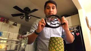 How to use the Pampered Chef Pineapple Wedger