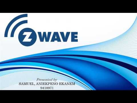 ZWAVE Wireless Communication Protocol Presentation