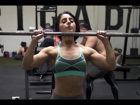 LIFTING HEAVY FOR BIKINI ft. Amanda Bucci