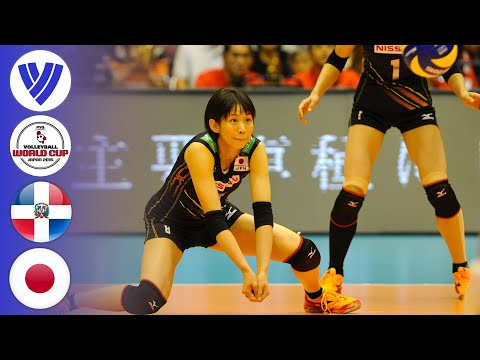 Japan Vs. Dominican Republic - Full Match   Women's Volleyball World Cup 2015