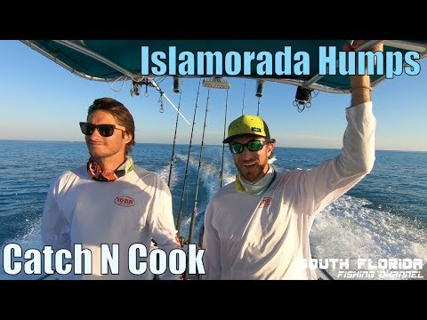 Fishing Islamorada Humps with my parents! Catch N Cook (Mahi + Tuna)