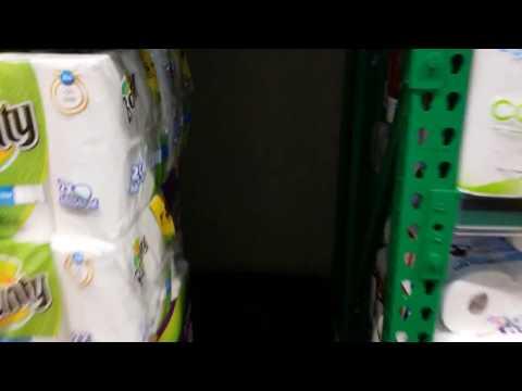 HUGE WEGMANS PAPER TOWEL FORT!