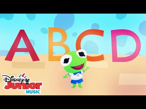 The Alphabet Song 🔤  🎼 Disney Junior Music Nursery Rhymes | Disney Junior