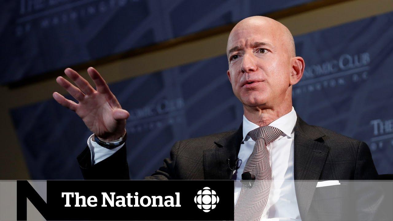 National Enquirer denies it blackmailed Jeff Bezos