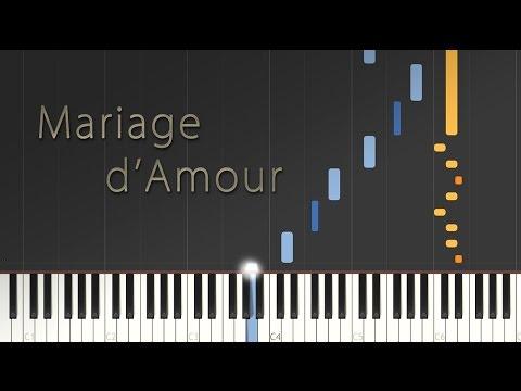 Mariage d'Amour - Paul de Senneville (George Davidson) \\ Synthesia Piano Tutorial