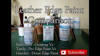 Leather edge coat comparison