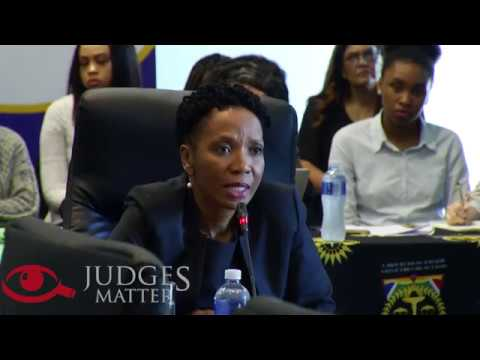 JSC interview of Judge M B Molemela for the Supreme Court of Appeal (Judges Matter)