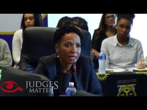 JSC Interview Of Judge M B Molemela For The Supreme Court Of Appeal (Judges Matter)