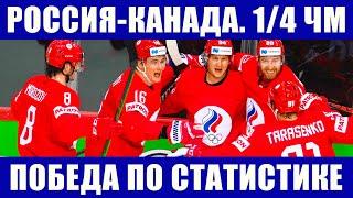 Хоккей чемпионат мира 2021 1 4 финала Россия Канада Почему сборная России победит сборную Канады