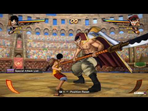 One Piece Burning Blood - Luffy Move List