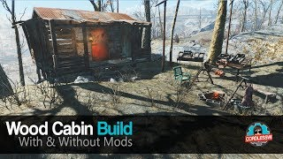 Fallout 4 Wood Cabin Build