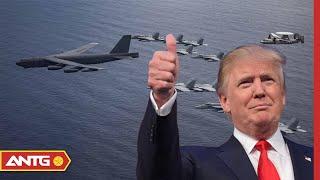 Tin tức Biển Đông mới nhất ngày 10/07   Mỹ phô diễn sức mạnh của phi cơ ném bom B-52H   ANTG